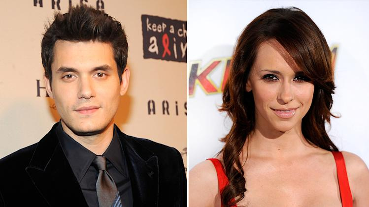 John Mayer and Jennifer Love Hewitt