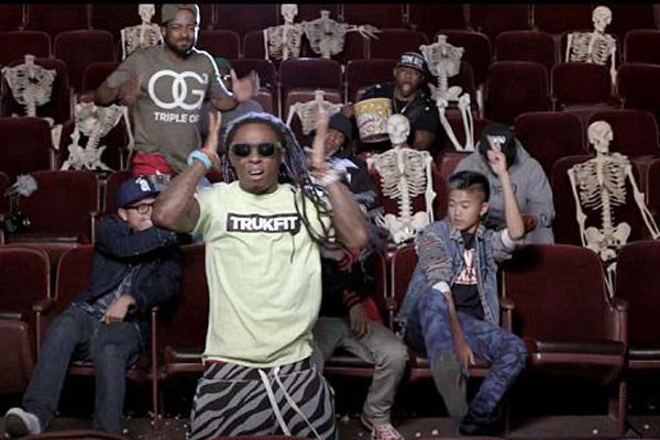 Lil Wayne's New Music Video Shows Movie Theatre Massacre