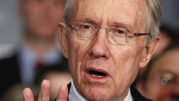 Sen. Harry Reid: U.S. appears to be headed off the 'fiscal cliff'