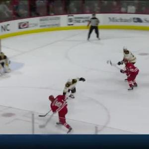 Tuukka Rask Save on Andrej Nestrasil (14:48/1st)