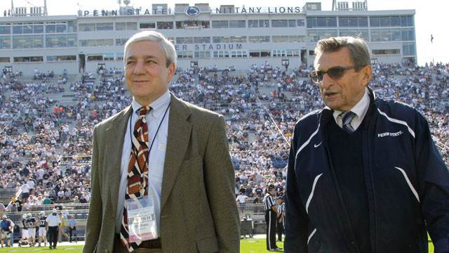 Ex-Penn State President Charged