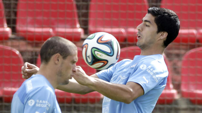 Suarez could struggle to recapture form in Brazil