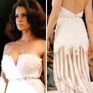 Wardrobe Malfunction: Kangana Ranaut Displays Her Butt At Gavin Miguel's Show