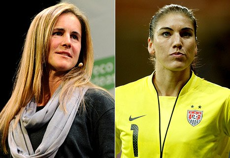 Brandi Chastain Responds to Hope Solo's Twitter Rant