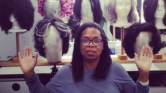 Oprah Goes All Natural on Twitter, 'O' Cover