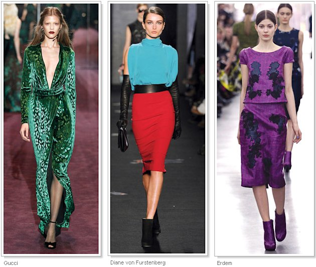 Fall 2012 Fashion Trend Report 