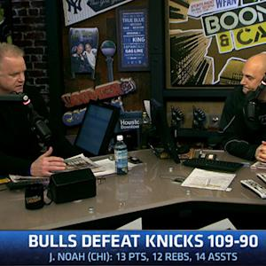Bulls blowout the Knicks