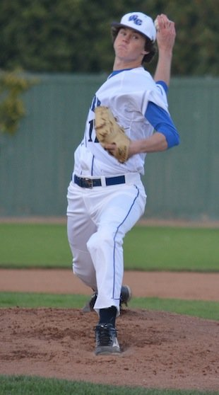Upland Western Christian baseball pitcher Ryan Olson — Contributed photo