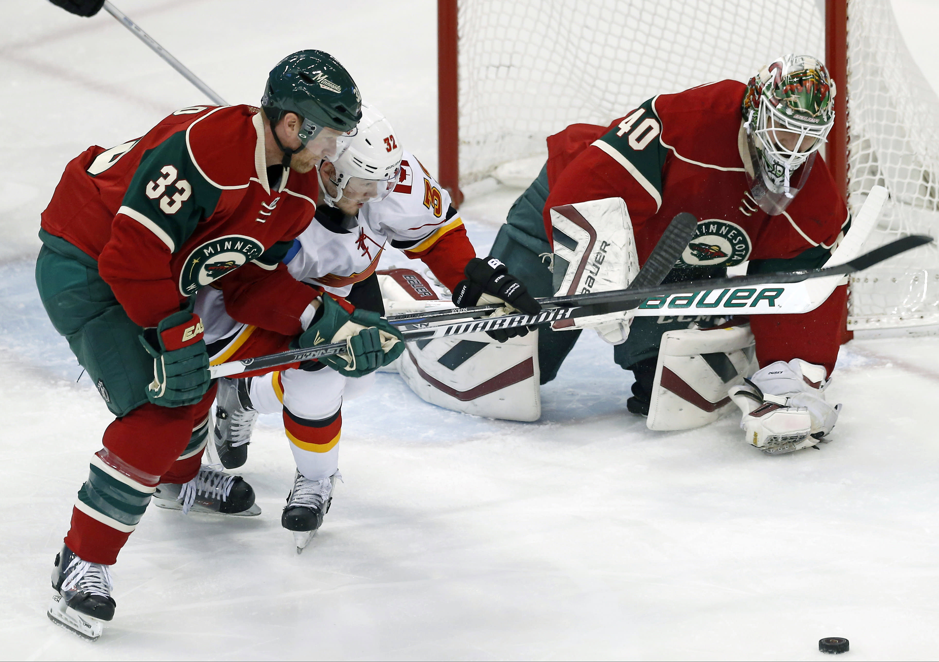 NHL Three Stars: Wild douse Flames; Atkinson tricks Chicago; Oilers shut-out Stars