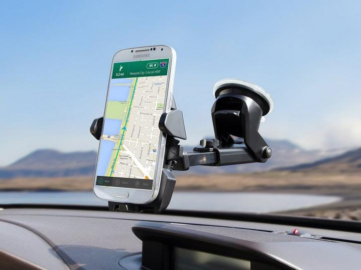 This car mount turns your smartphone into the perfect navigation system