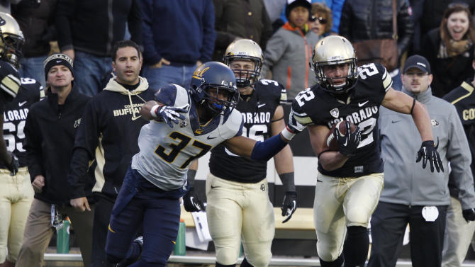 Colorado beats Cal 41-24 to snap conference skid