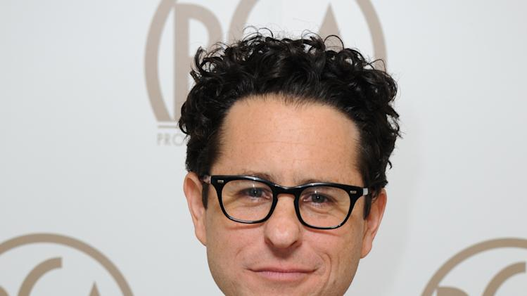 J.J. Abrams is seen backstage at the 24th Annual Producers Guild (PGA) Awards at the Beverly Hilton Hotel on Saturday Jan. 26, 2013, in Beverly Hills, Calif. (Photo by Jordan Strauss/Invision for Producers Guild/AP Images)