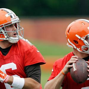 Brian Hoyer outplays Johnny Manziel on day two of Cleveland Browns camp