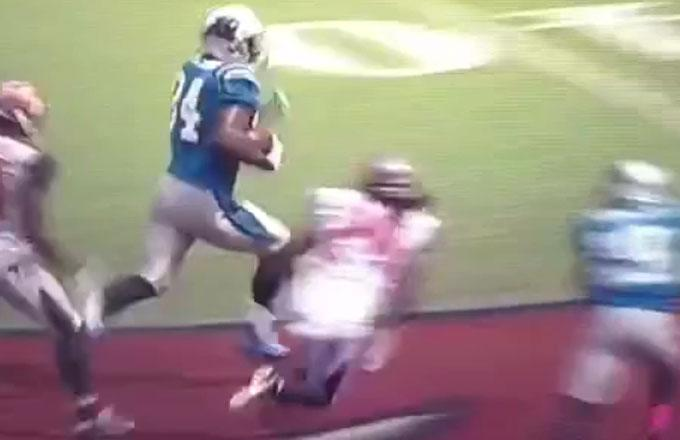 Panthers Get Lucky Bounce, Score On Ridiculous Fumble Recovery