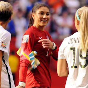 U.S. players to compete with Germany as underdogs