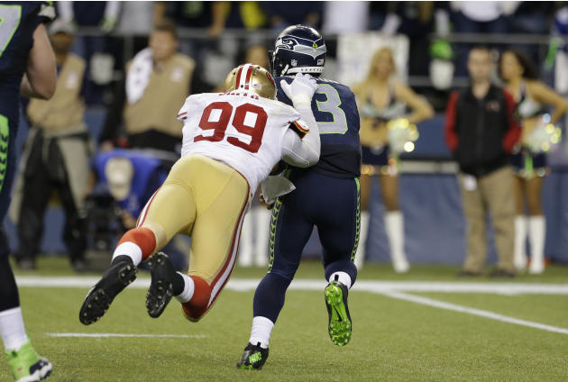49ers Seahawks Football