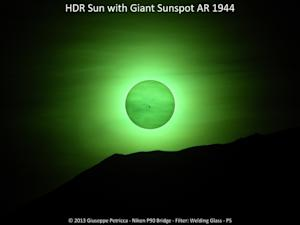 Monster Sunspot Dominates Sun Photos by Amateur Astronomers
