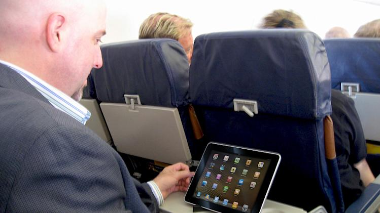 United Airlines plans to make your tablet the hub of in-flight entertainment
