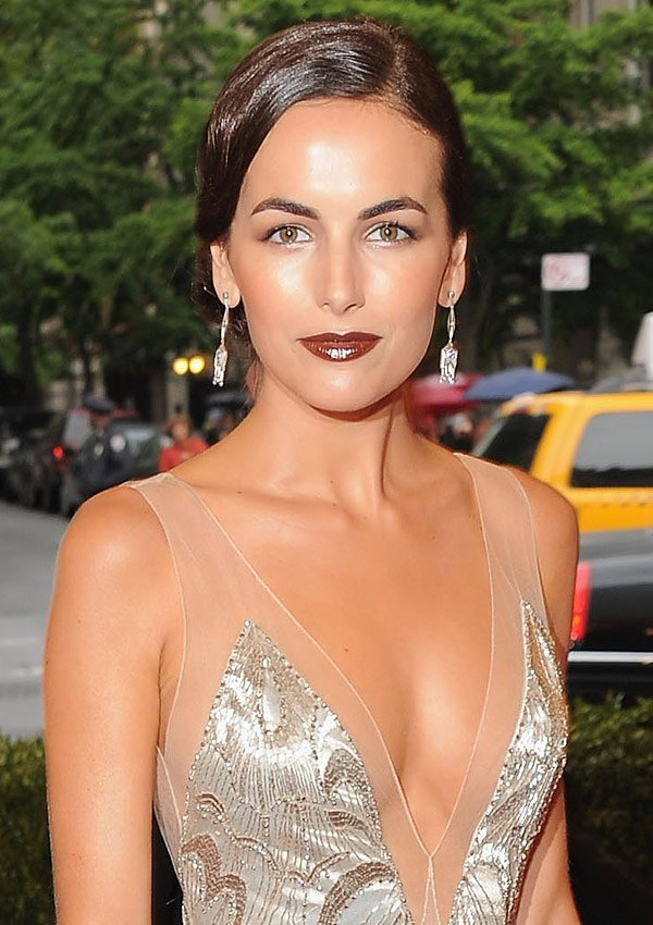 Camilla Belle Cabernet-Colored Lips At The 2012 Met Ball: Shop Her Look