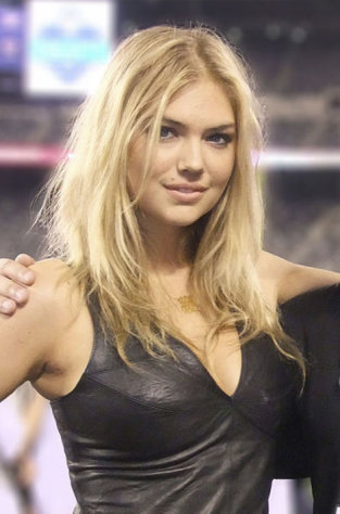 Kate Upton had a rough first day as the new Sports Illustrated model.