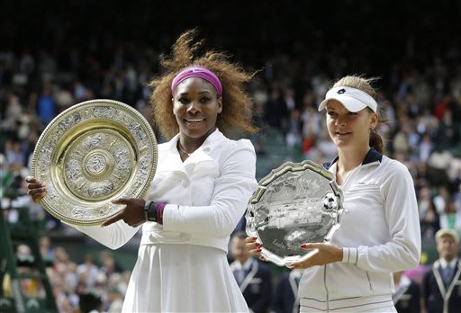 Serena wins 5th Wimbledon title in 3 sets