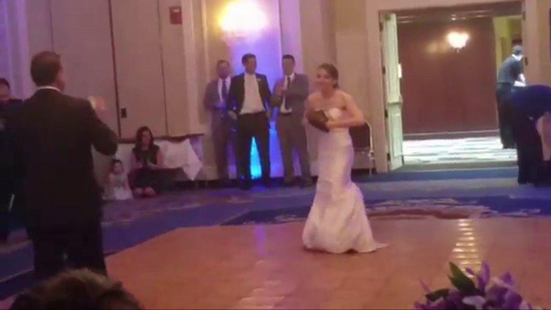 Father Surprises Daughter With Special Wedding Dance