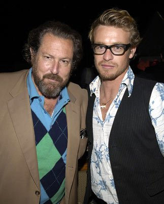 Julian Schnabel and Simon BakerGeorge A. Romero's Land of the Dead Party