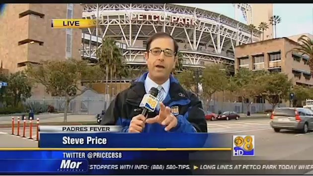 Long lines at Petco Park for first day of ticket sales