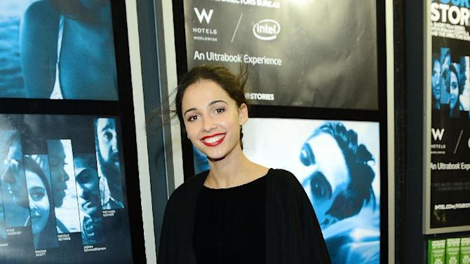 Actress Naomi Scott seen at The Premiere of Intel & W Hotels' Four Stories on Tuesday, Nov. 27, 2012, W Hotel, London. (Photo by Jon Furniss/Invision for Intel/AP Images)
