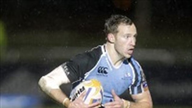 Byron McGuigan scored two tries for Glasgow