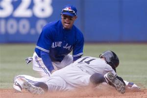 Hechavarria has big hit as Blue Jays beat Yankees