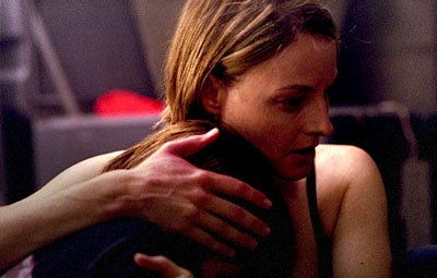 Kristen Stewart and Jodie Foster in Columbia's Panic Room