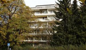 Apartment building in Munich where it is believed that German customs discovered missing artworks