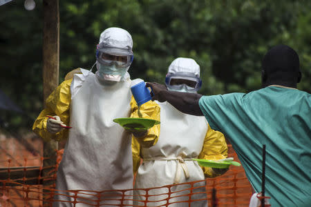 LIBERIA WARNS OF 'GLOBAL PANDEMIC'...