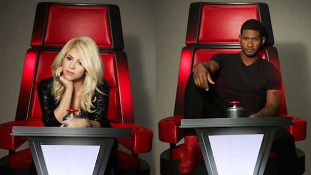 First Look: New &#39;Voice&#39; Mentors Take Their Seats