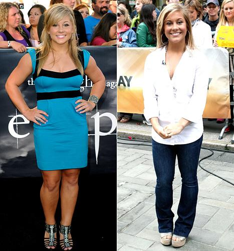 Shawn Johnson Loses 25 Pounds!