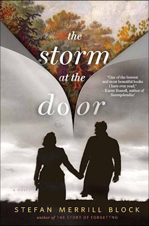 "This image provided by Random House shows the book cover for ""The Storm at the Door,"" by Stefan Merrill Block. (AP Photo/Random House)"