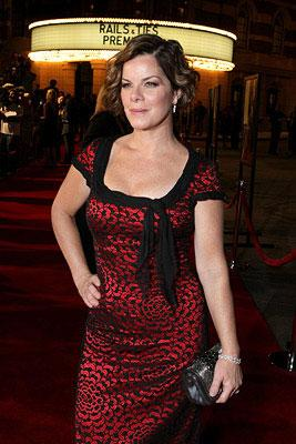 Marcia Gay Harden at the Los Angeles premiere of Warner Bros. Pictures' Rails & Ties