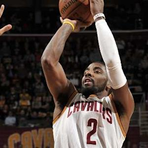 Kyrie Drops a Team Record of 3-pointers