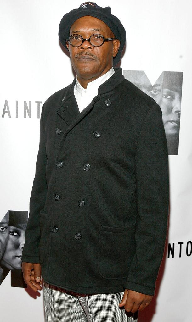SamuelL Jackson The Mountaintop Broadway Opening Night After Party