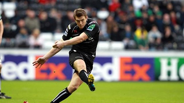 Dan Biggar kicked three penalties for Ospreys