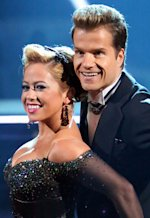 Sabrina Bryan and Louis van Amstel | Photo Credits: Adam Taylor/ABC