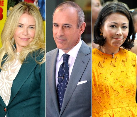 Chelsea Handler Ends &quot;Simmering Feud&quot; With Matt Lauer After Ann Curry Joke