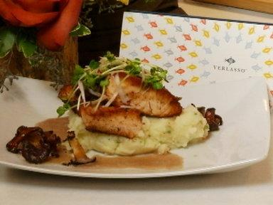 Seared Verlasso Salmon