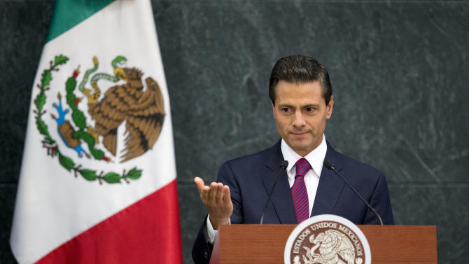 Mexican president's state-of-the-nation beset by doubts