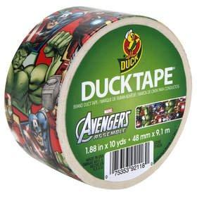 Duck(R) Brand and The Avengers Assemble for New Duck Tape(R) Print