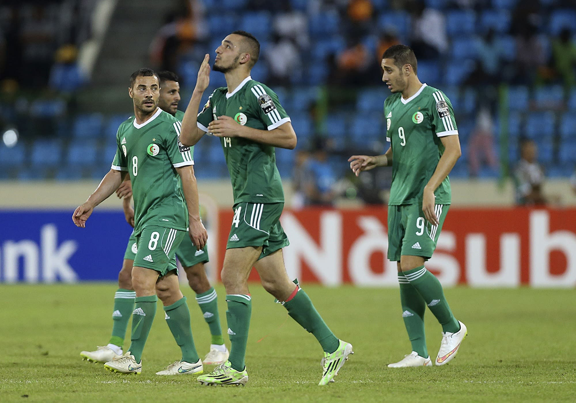Algeria and Ghana advance to quarterfinals at African Cup