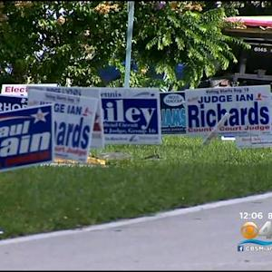 Election Day: Early Voter Turnout Slow In Broward County