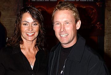 Nadia Comaneci and Bart Conner at the LA premiere of Touchstone's National Treasure