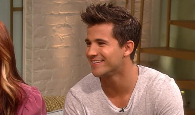 Dez Duron on Access Hollywood Live, Oct. 2, 2012 -- Access Hollywood